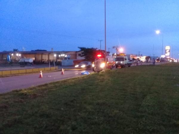 Mulher morre em acidente na BR 163