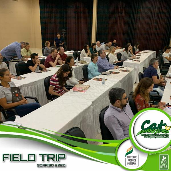Membros da RTRS conhecem a realidade sorrisense durante a Field Trip