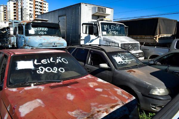 Sesp realiza novo leilão de veículos e sucatas na próxima quarta-feira (30)