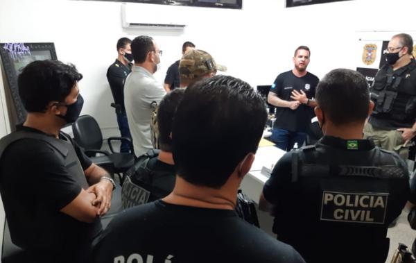 Voltar Polícia Civil cumpre 29 mandados contra associação criminosa envolvida em roubos a lojas