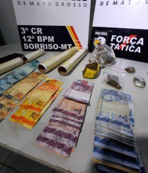 Denúncia anônima leva polícia a suposta Boca de Fumo e prende dois suspeitos
