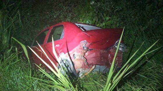 Ônix atropela e mata dois em rodovia de MT; vítima tem perna arrancada