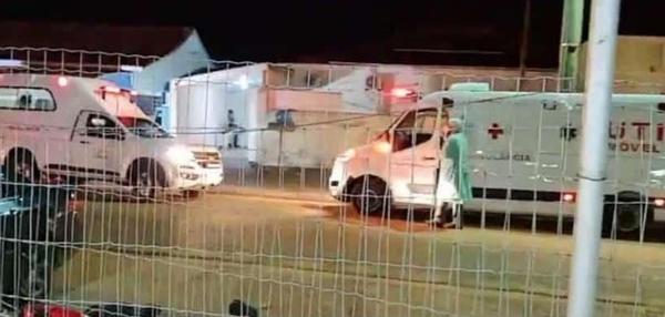 Colíder MT | Ambulâncias fazem fila no Hospital Regional por falta de leitos