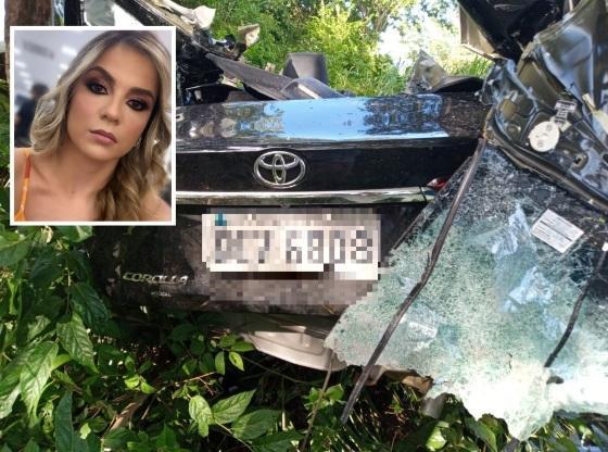 Médica de Cuiabá morre em acidente na Serra do Mangaval