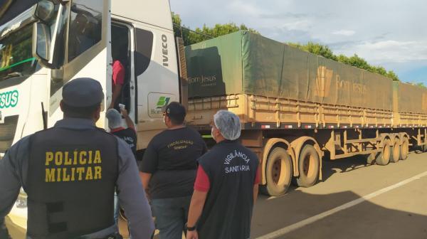 Prefeitura de Sorriso faz barreiras sanitárias em entradas da cidade