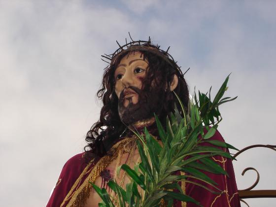 Fiéis levam benção do Senhor Bom Jesus a hospitais