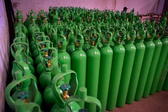 Campanha arrecada R$ 1,13 milhão em cilindros para atender hospitais de MT