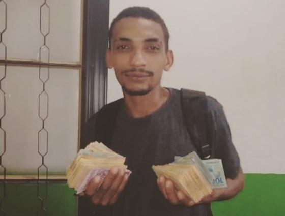 Catadores encontram cerca R$ 30 mil e devolvem ao Banco do Brasil