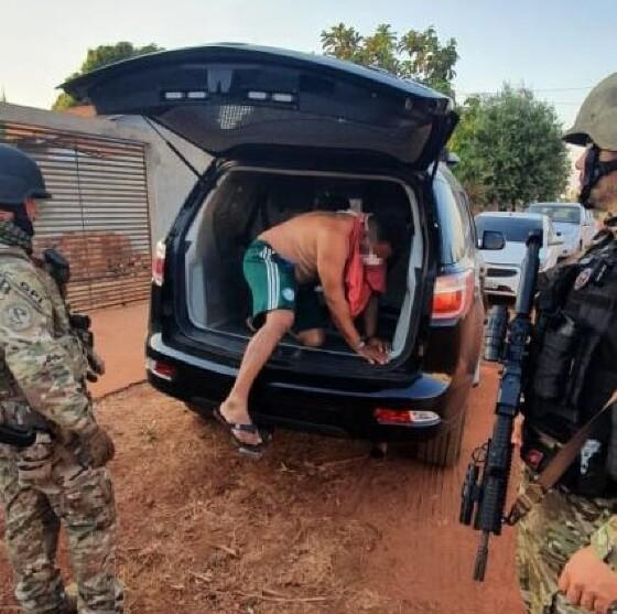 PF prende policial de MT por envolvimento no tráfico internacional de drogas