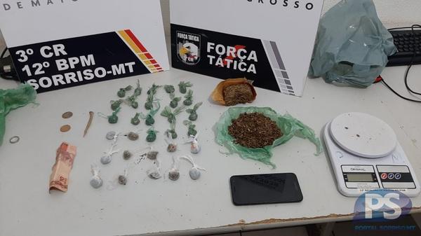 Quatro são presos por tráfico de drogas no bairro São José
