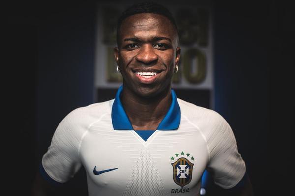 Vinicius Junior é o preferido da torcida para a vaga de Neymar na Seleção; veja enquete