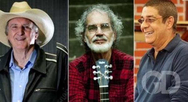 Festival de Inverno de Chapada começa 6ª e terá Zeca Pagodinho, Renato Teixeira e Sergio Reis