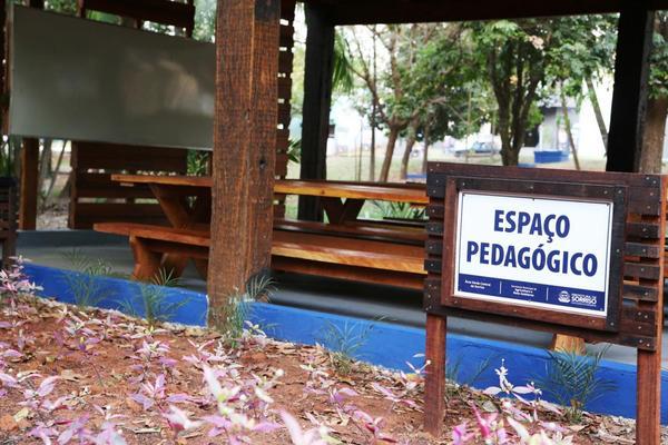 Área Verde Central está aberta para atividades educacionais agendadas