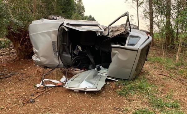 Veículo com placas de Sorriso se envolve em acidente fatal em Chapecó (SC)