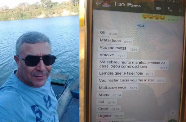 Homem confessa crime no WhatsApp e diz que vai cometer suicídio