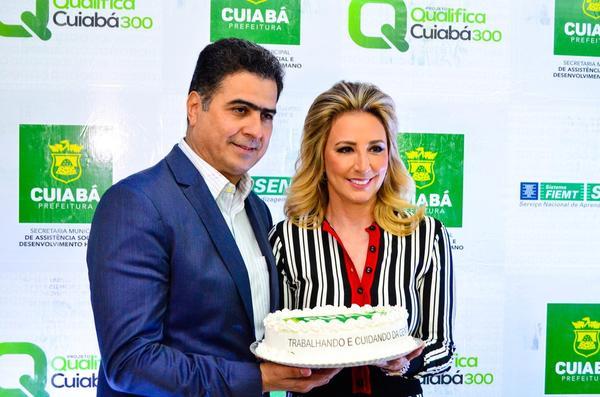Prefeito de Cuiabá diz que 'por precaução' não recebe mulheres sozinho em gabinete após polêmica envolvendo vereador