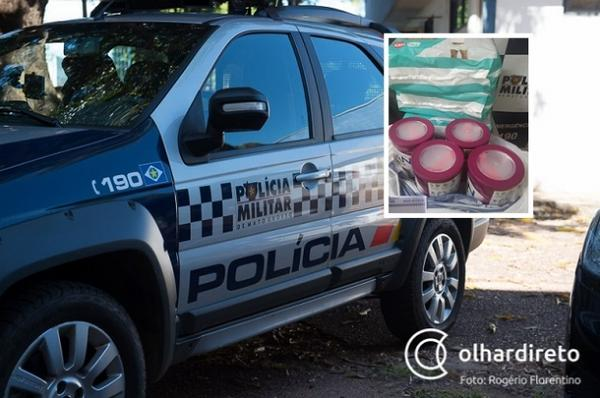 Adolescente é detida após furtar fraldas e leite em pó em supermercado de Cuiabá