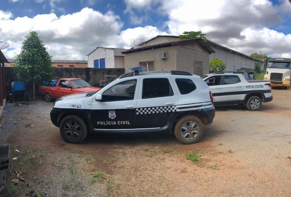 Depósito de gás clandestino é descoberto após denúncia