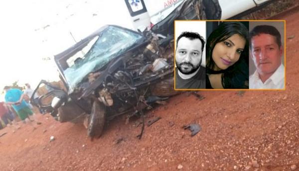 Três pessoas morrem em grave acidente no Nortão