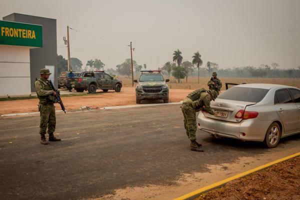 Mais de 20 toneladas de drogas são apreendidas na fronteira com a Bolívia nos últimos dois anos