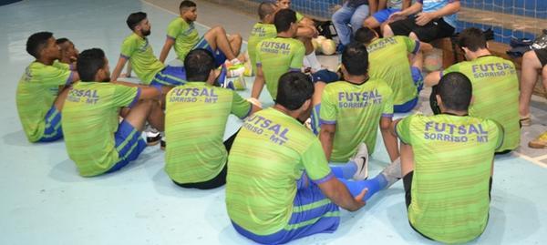 ASF Sorriso representa Mato Grosso na Copa Brasil de Futsal