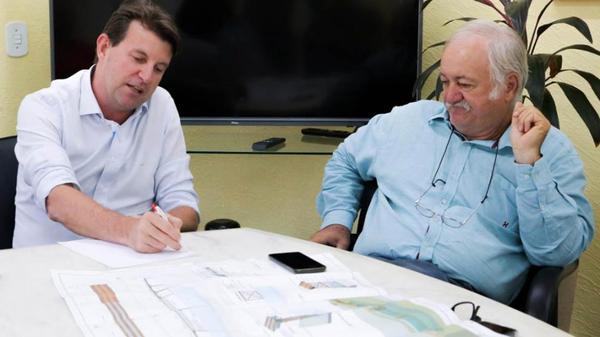 Prefeitos de Sorriso e Trivelato pedirão apoio do governo para construir ponte