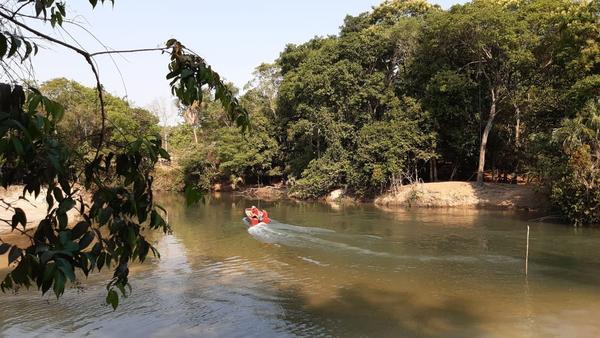 Após 12 horas de buscas, corpo de adolescente é encontrado no Rio Lira em Sorriso