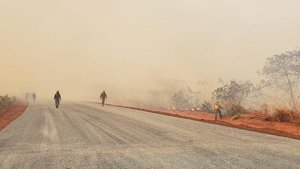 Chapada dos Guimarães (MT) alega prejuízo de R$ 23 milhões por queimadas e decreta situação de emergência